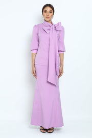 Baju Kurung Kleo in Purple