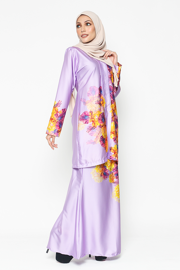 WH Kebaya Purple Bloom in Lavendar