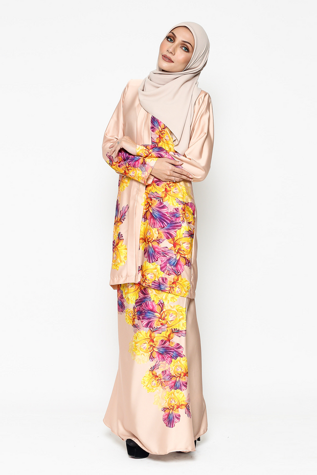 WH Kebaya Purple Bloom in Nude