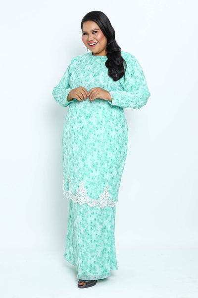 Baju Kurung Shafaa in Green