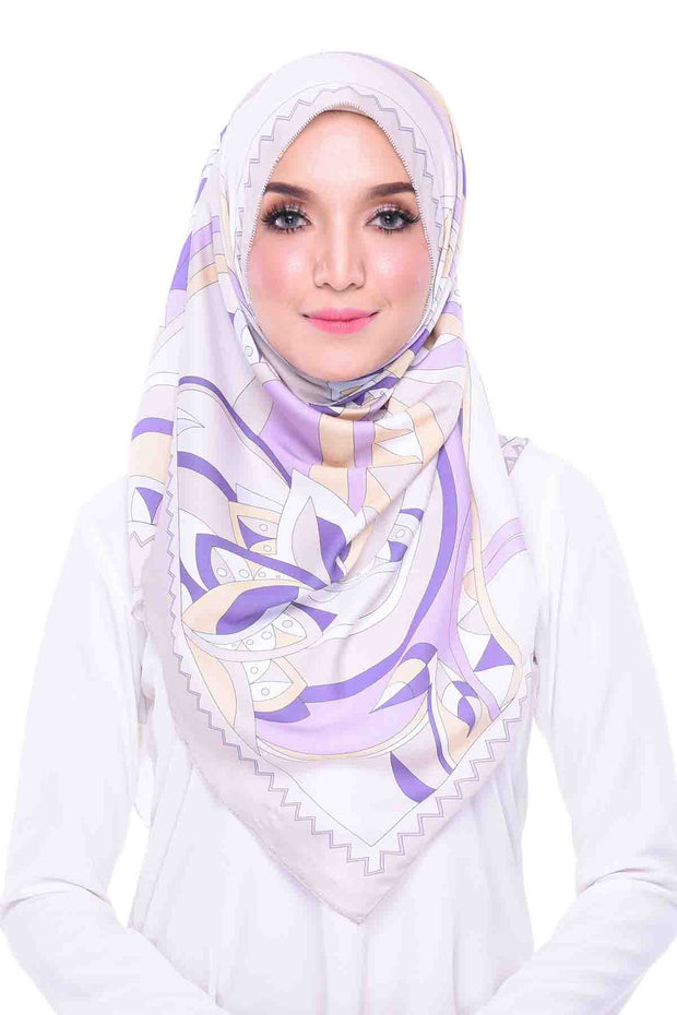 ND VIOLET SHAWL