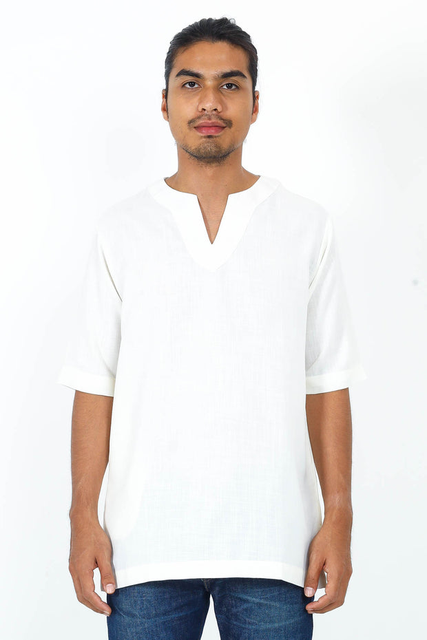 COTTON LINEN Arjuna Kurta