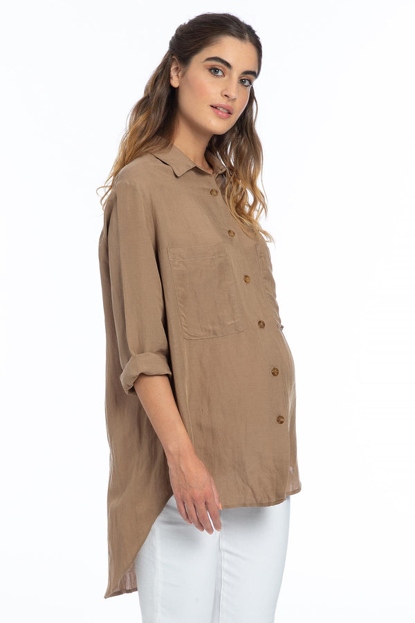 LISA | Oversized Maternity Shirt