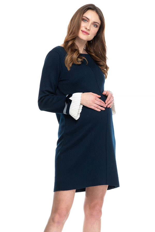 MAINFIELD | Maternity Dress in Wool