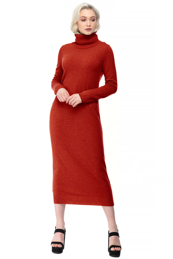 LA SALLE | Maxi Dress in Wool and Cashmere