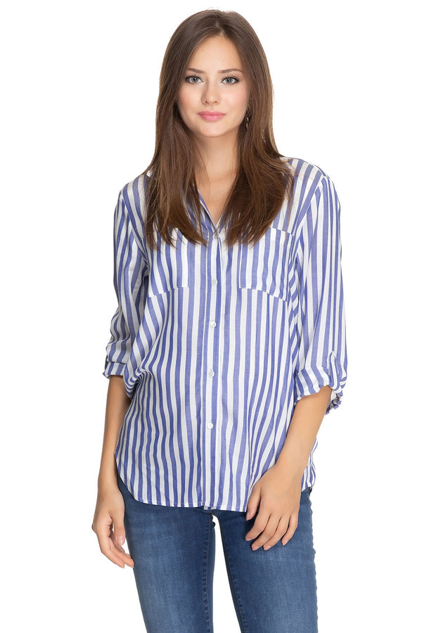 DANIELA | Striped Maternity Shirt