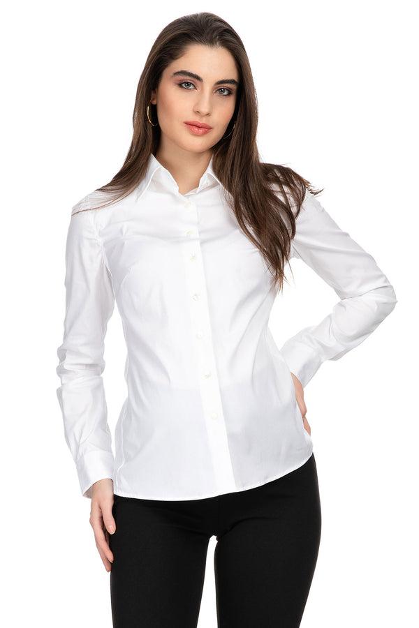 GRETA | Maternity Shirt with Stretch Insert