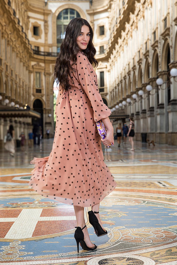 ISABELLA | Polka Dots Dress