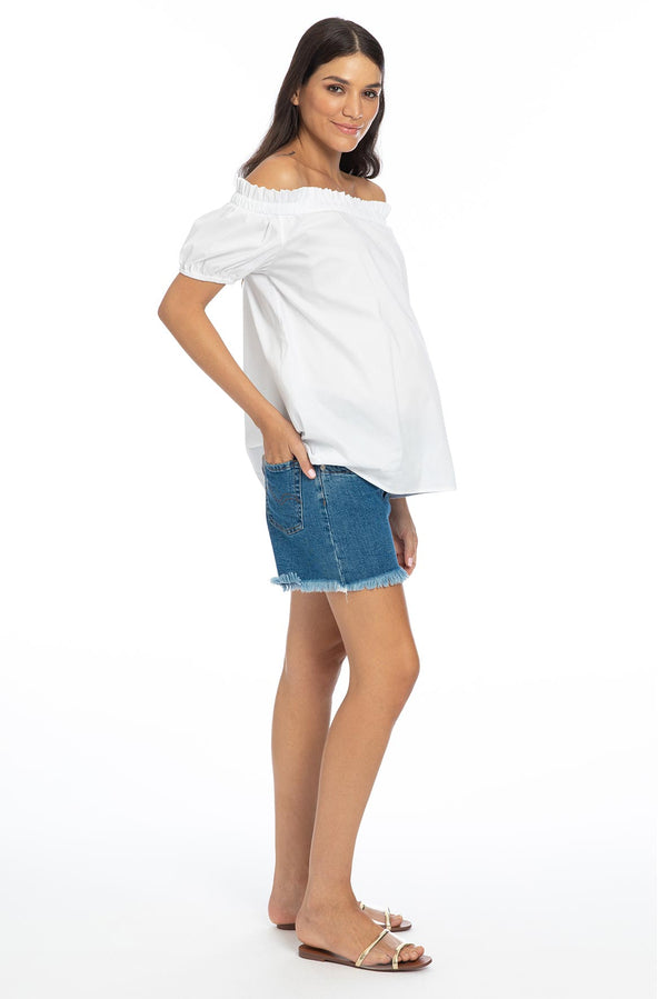 MINI SHORTS W027 | Maternity Shorts
