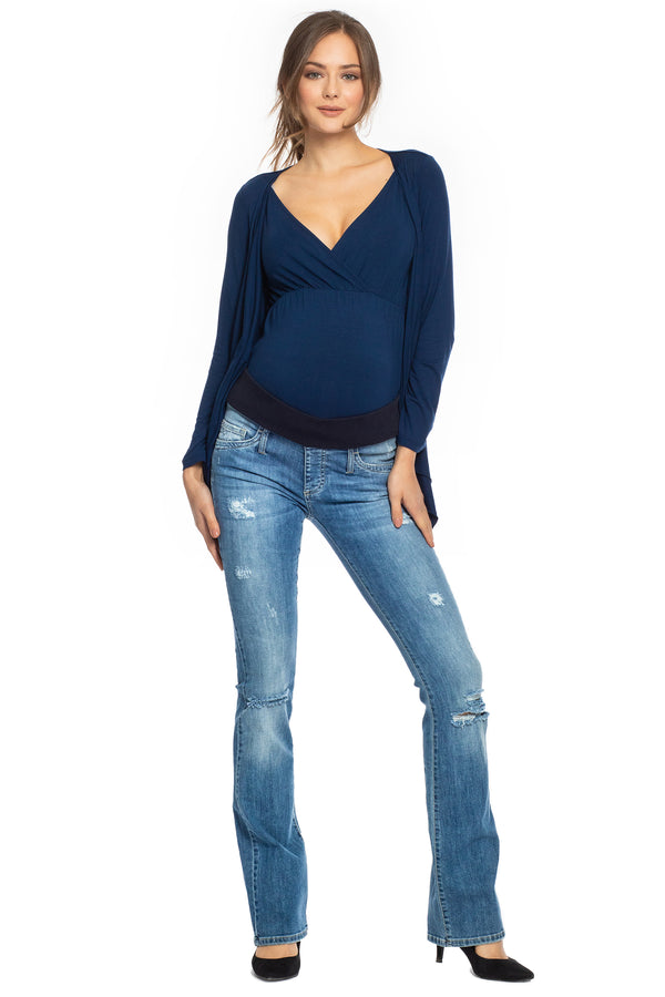 SLIM BOOTCUT | Maternity Jeans W607