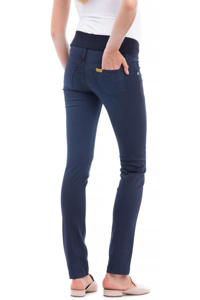 Skinny Blue | Jeans Premaman in cotone