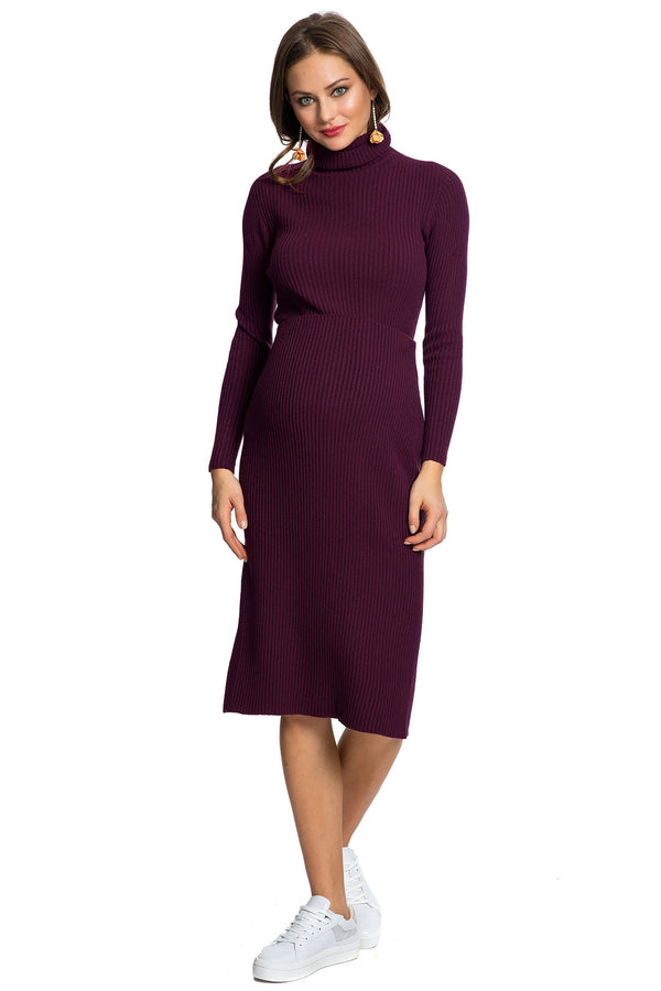 MOENA | Maternity Ribbed Turtleneck