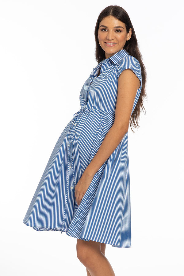 VIOLA | Cotton Maternity Dress