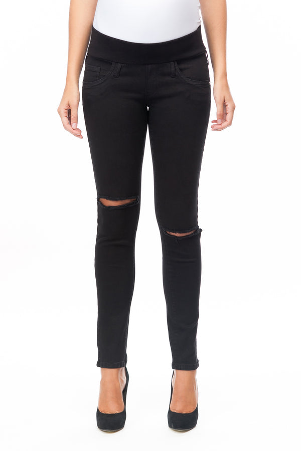 Jeggings | Jeans Premaman con rotture 9999