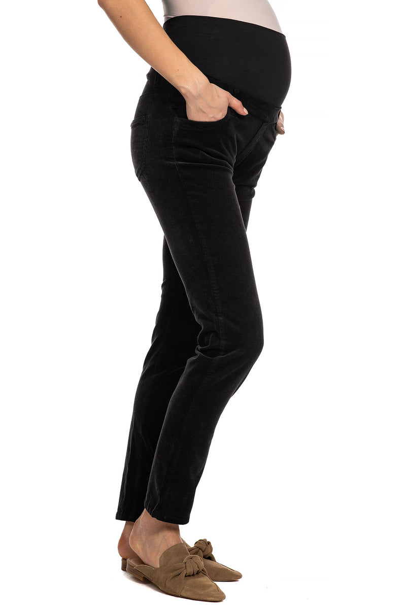 VELVET PANTS | Pantalone Premaman in Velluto a Coste