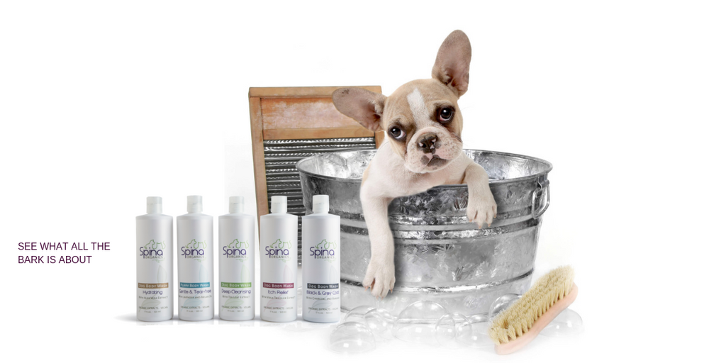 Natural, Organic, Vegan Dog Body Wash
