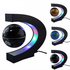 Levitation Floating LED Globe World