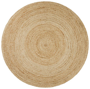 Rug Culture Atrium Polo Round Natural Rug