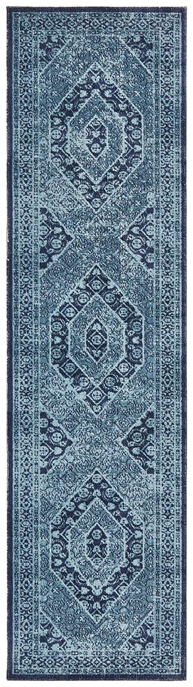 Eternal Whisper Vision Blue Rug