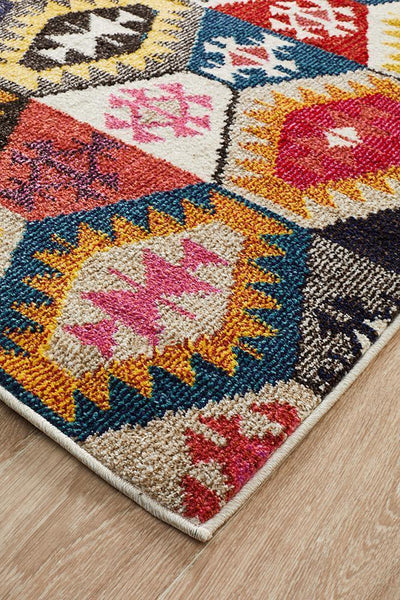 Gemini Modern 509 Multi Coloured Rug