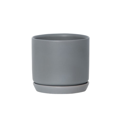 General Eclectic Medium Oslo Planter Grey Fog
