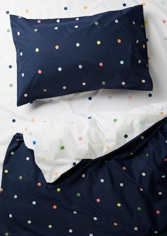 More Than Ever Spot & Dot Night Sky Pillow Case