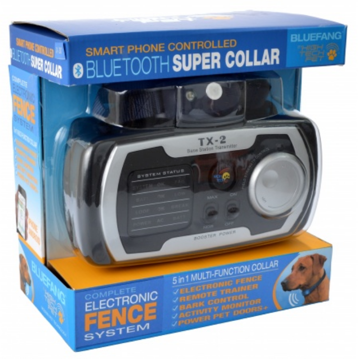 High Tech Pet X-30 BlueFang 5-in-1 Electronic Dog Fence