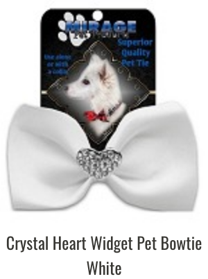 Widget Bowties - Crystal Heart