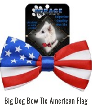 Big Dog Bow Tie,  Flags