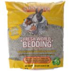 Sunseed Fresh World Small Pet Paper Bedding