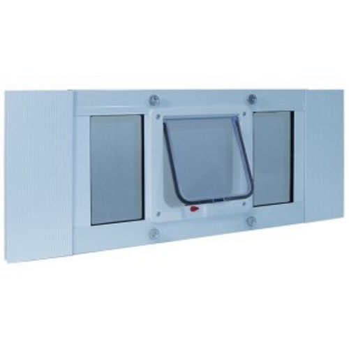 Ideal Pet Aluminum Sash Window Cat Flap