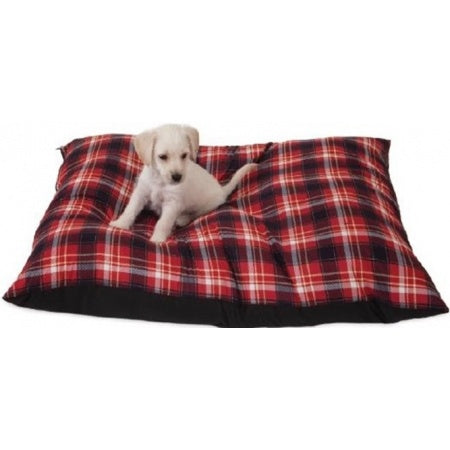 Aspen Pet Hamilton Plaid Pet Pillow Bed