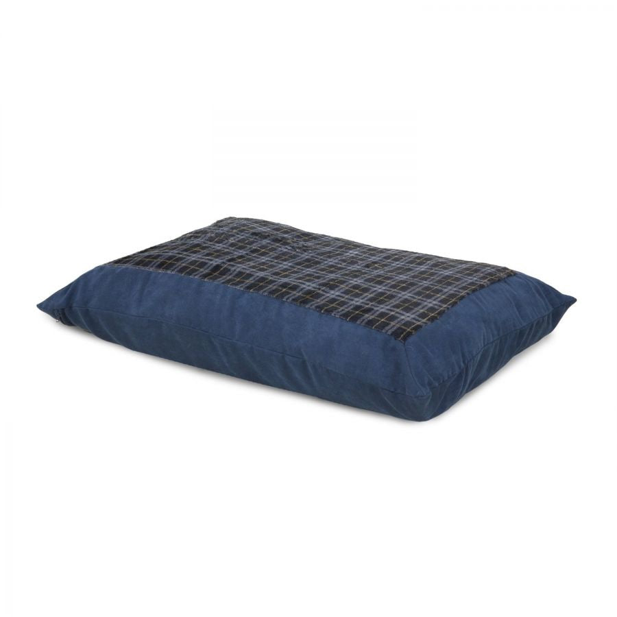 Aspen Pet Plaid Pillow Bed - Assorted Colors