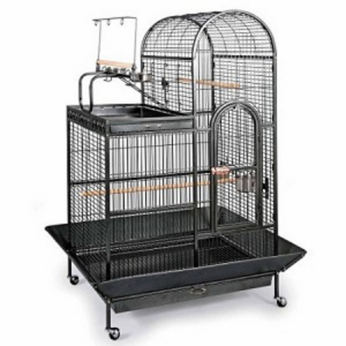 Deluxe Parrot Dometop Cage with Playtop