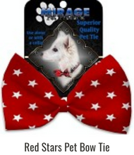 Load image into Gallery viewer, Classic Dog Bow Ties - Holiday Designs