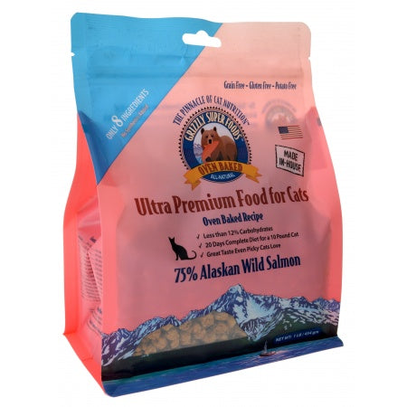 Grizzly Super Foods Oven Baked Alaskan Wild Salmon