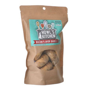 Howl's Kitchen Bacon Flavor Bagels for Dogs