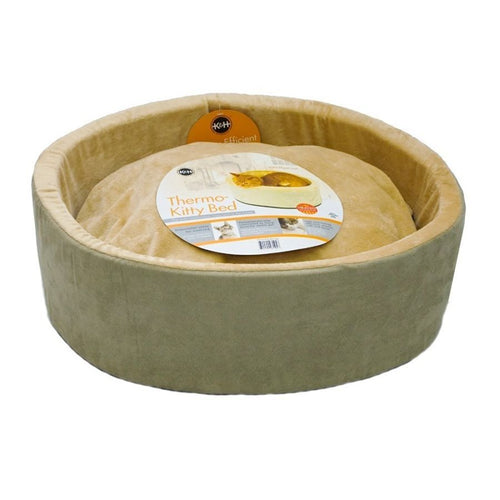 K&H Pet Products Thermo-Kitty Bed - Sage
