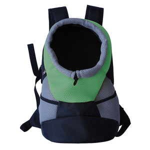 Pet Life On-The-Go Supreme Travel Bark-Pack Green Backpack Pet Carrier