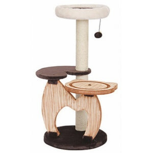 Pet Pals Rondure Natural Wood Cat Tree