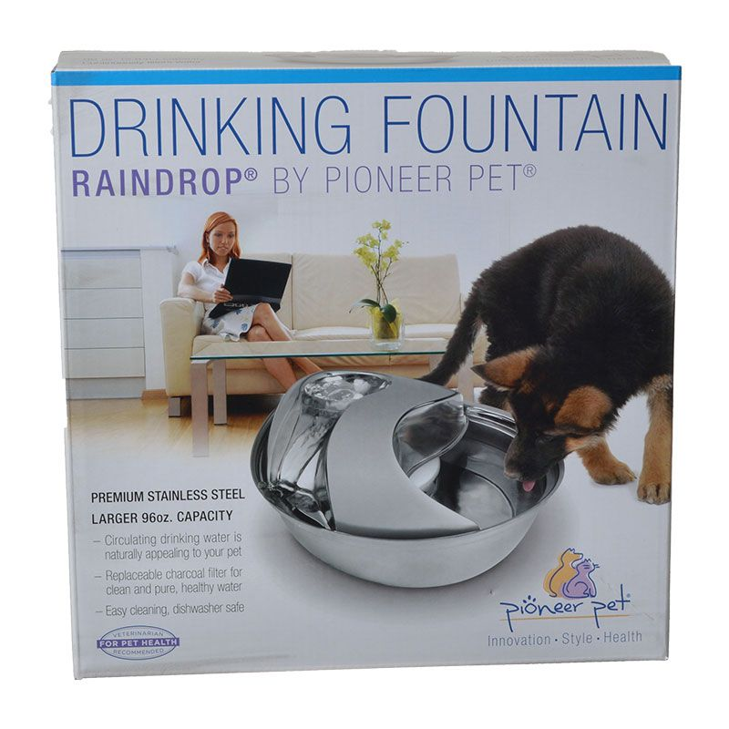 Pioneer Raindrop Stainless Steel Drinking Fountain