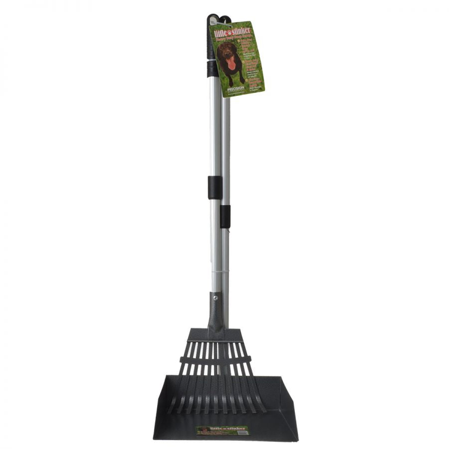 Precision Pet Little Stinker Heavy Duty Pooper Scooper with Rake
