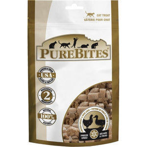 PureBites Chicken Breast & Duck Liver Freeze Dried Cat Treats