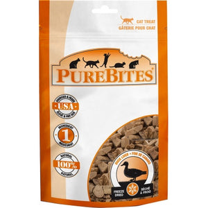 PureBites Duck Liver Freeze Dried Cat Treats