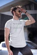 Load image into Gallery viewer, Define Digital Nomad T-Shirt - NomadCulture - T-Shirt for Remote Workers and Digital Nomads