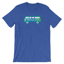 Load image into Gallery viewer, My Office Has Wheels T-Shirt - NomadCulture - T-Shirt for Remote Workers and Digital Nomads