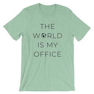 The World Is My Office T-Shirt - NomadCulture - T-Shirt for Remote Workers and Digital Nomads