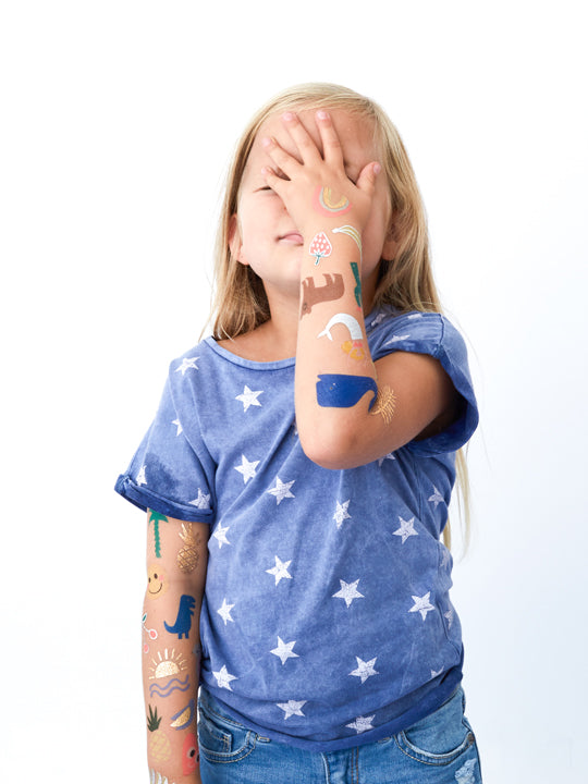 Guide to temporary tattoos for kids — Meri Meri