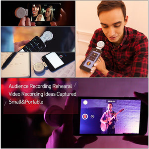 [Apple MFi Certified] Lolly Lightning Microphone - MeloAudio