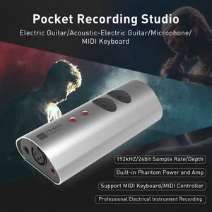 MeloAuido TS Digital Audio Interface Tone Shifter Mini USB Audio Recording Interface - MeloAudio